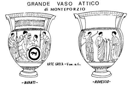 Monte porzio vaso attico for Vaso greco a due anse